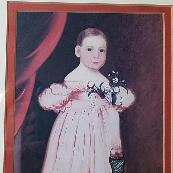 Vintage Other - Victorian Child Picture, Vintage